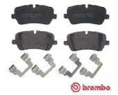 LR065492 P44021 Brembo Rear Brake Pad Set